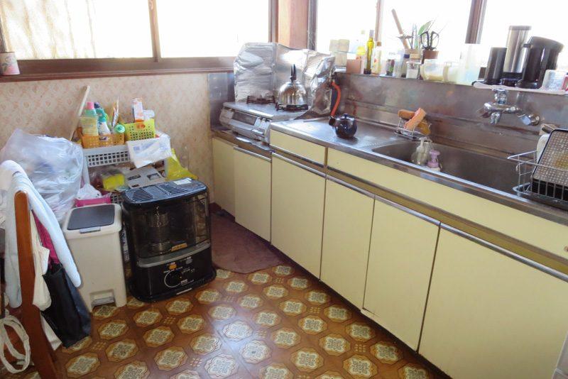 ENLARGE エンラージ リフォーム リノベーション キッチン ビフォー