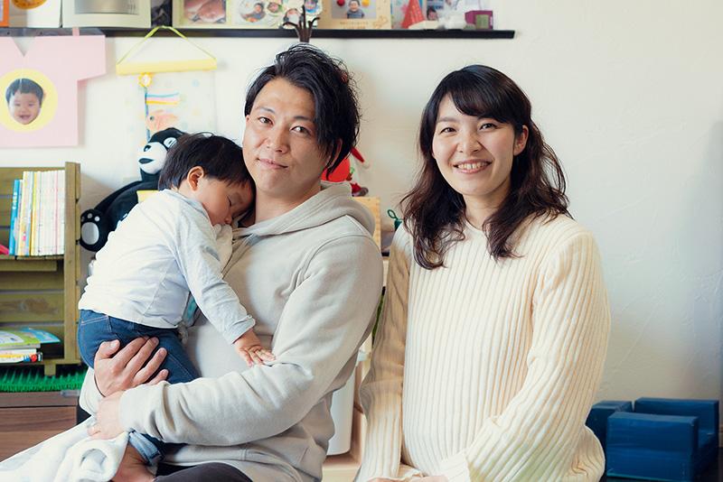 ENLARGE エンラージ リフォーム リノベーション 茅平さんご家族
