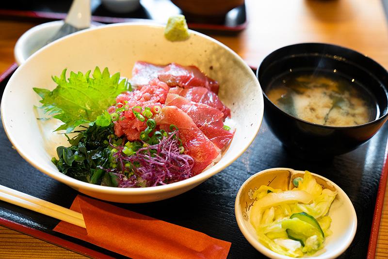 魚酒場じゅらく じゅらく鮪丼定食
