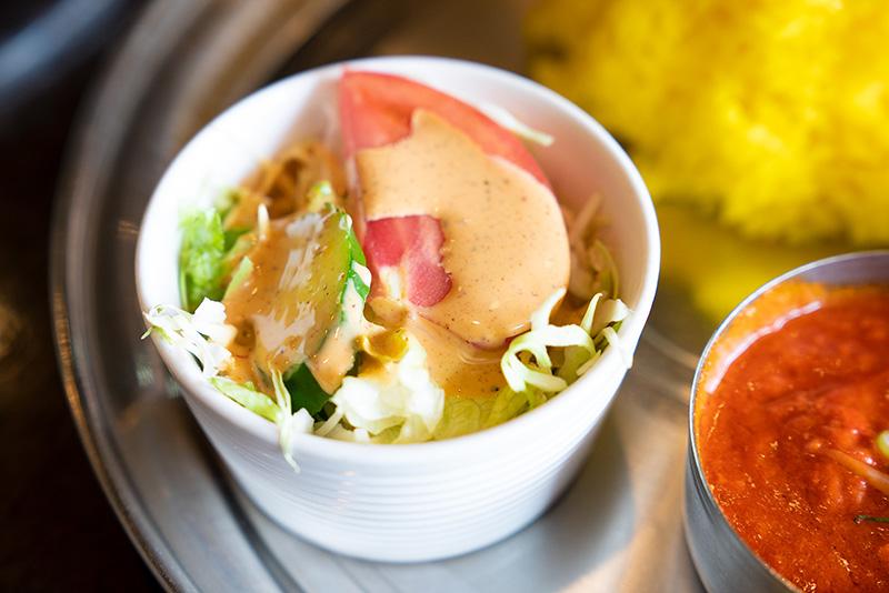 インドレストランデルコス 本日のスープカレーセット