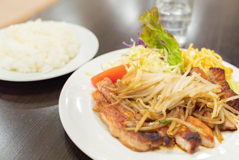 洋食おがわ 豚ロース生姜焼き