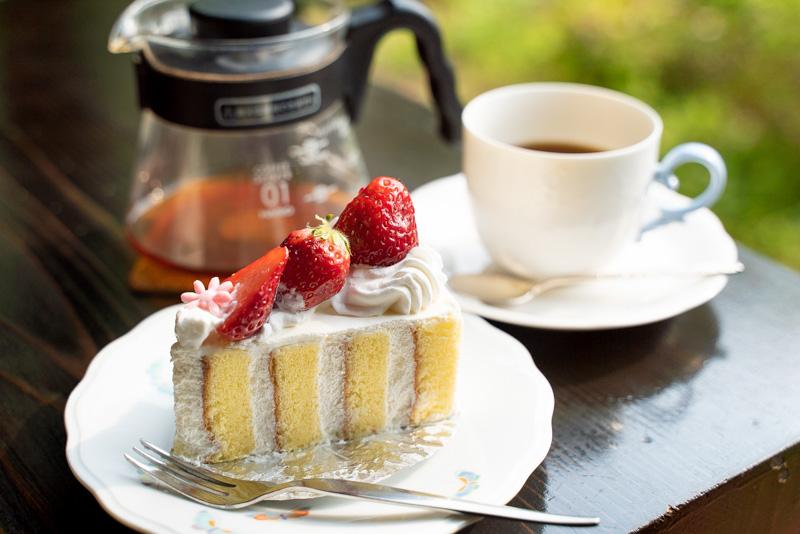 cafeMariposa カフェマリポーサ ちいちゃんの手作りケーキ 季節のショートケーキ