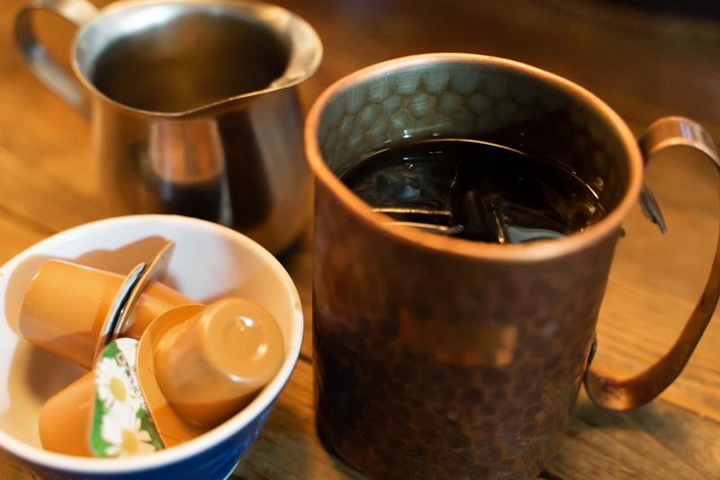 珈琲亭土門 アイスコーヒー