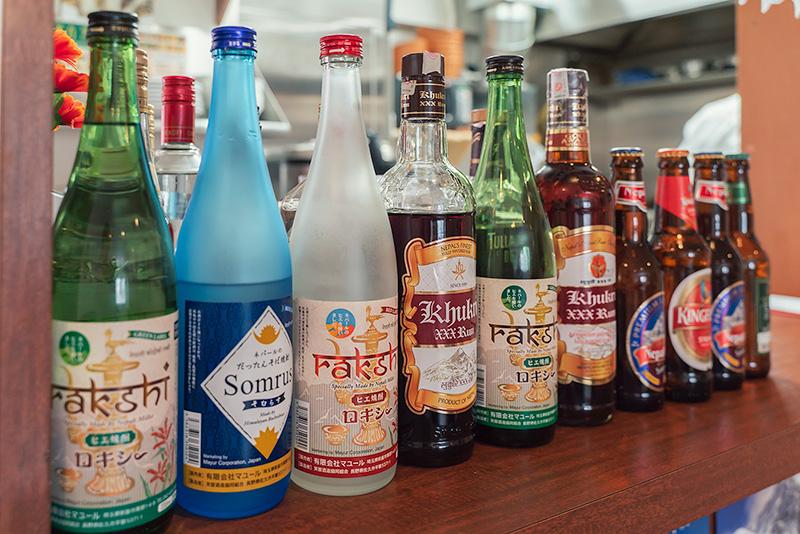 ポカラ食堂 アルコール ネパール