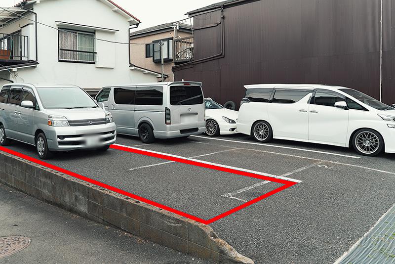 珈琲舎バンビ 駐車場