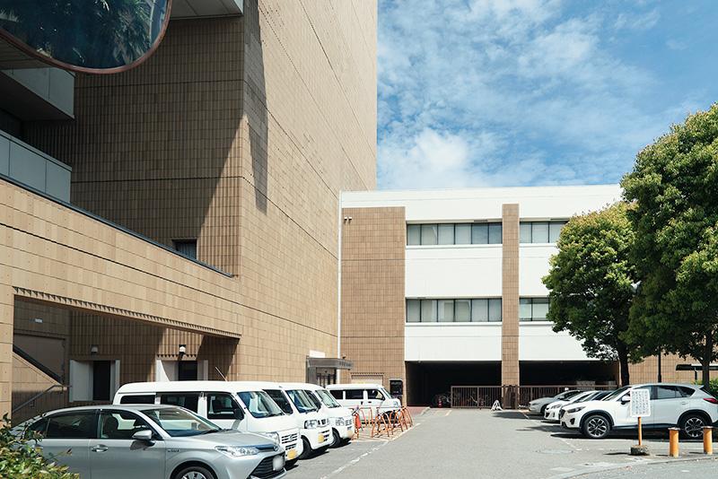 八王子市役所 守衛室
