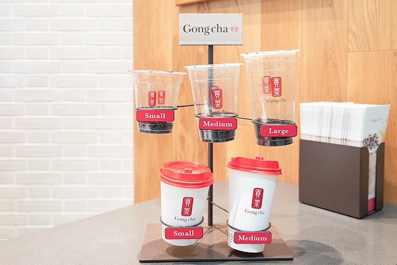 Gongcha ゴンチャ 貢茶 セレオ八王子店 サイズ