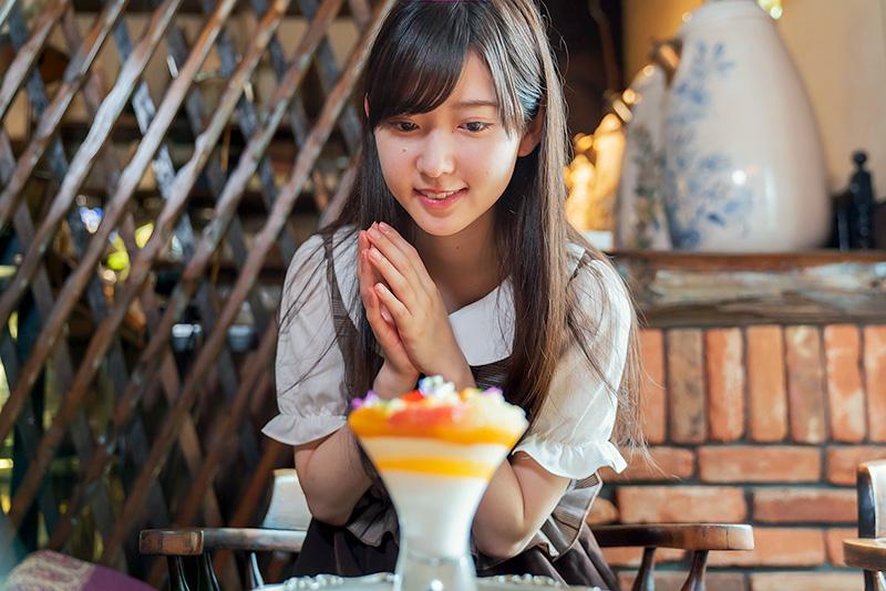 パペルブルグ 8princess りこち 柑橘のパフェ