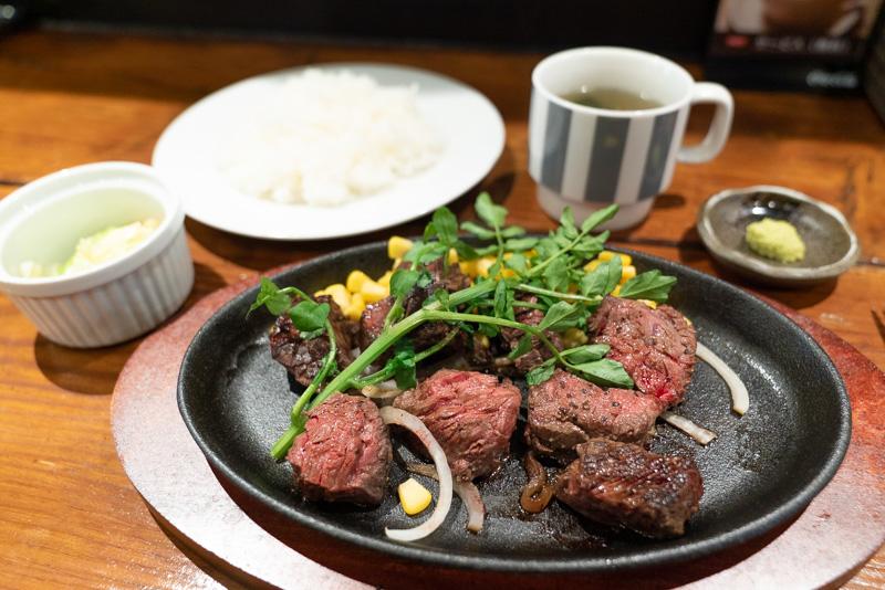 ステーキ食堂三崎町店 食堂ステーキ 225g