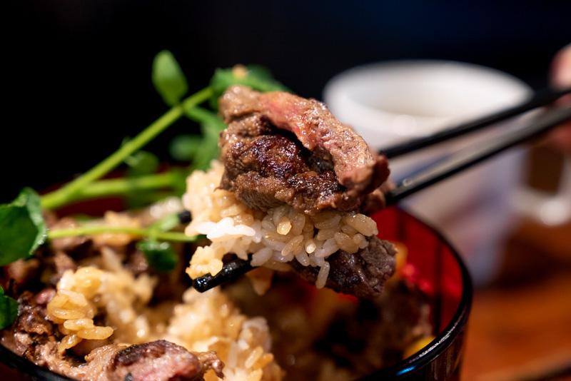 ステーキ食堂三崎町店 ステーキ丼