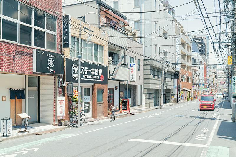 ステーキ食堂三崎町店 アクセス