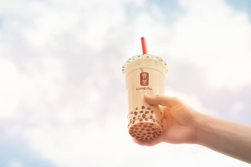 Gongcha ゴンチャ 貢茶 セレオ八王子店 ブラックミルクティー+パール