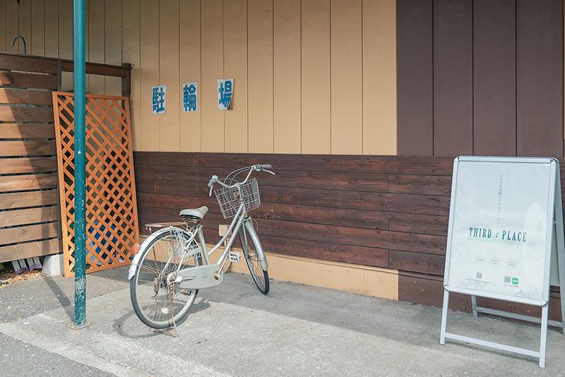 ヘアーガーデンリゾート高倉町店 駐輪場