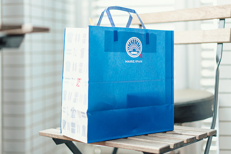 HARE/PAN ハレパン 晴れ時々ぱん 紙袋