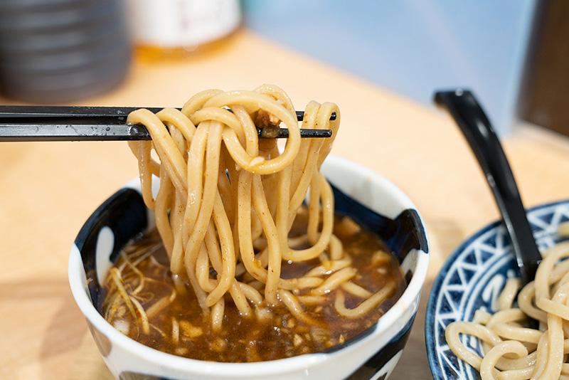 八王子 音七 つけ麺 並 極太麺