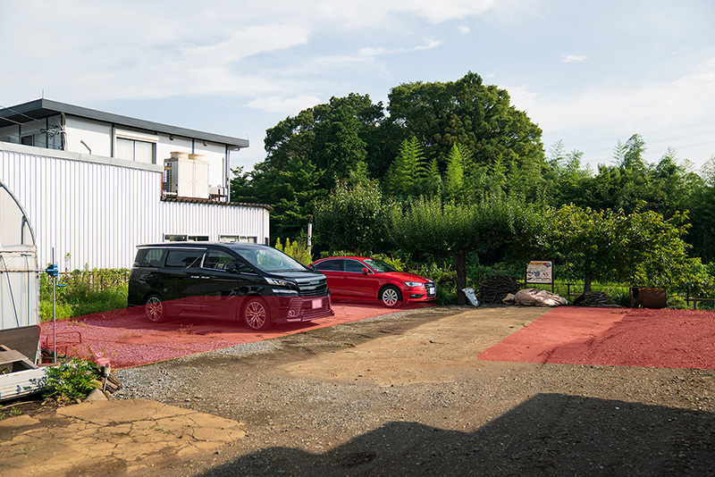 まるべりーテラスの絶品ランチ メニュー 駐車場