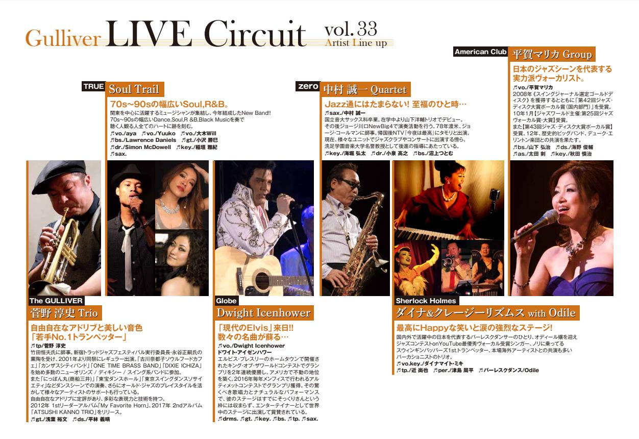 ガリバー ライブサーキットVol.33開催【2019/11/13】