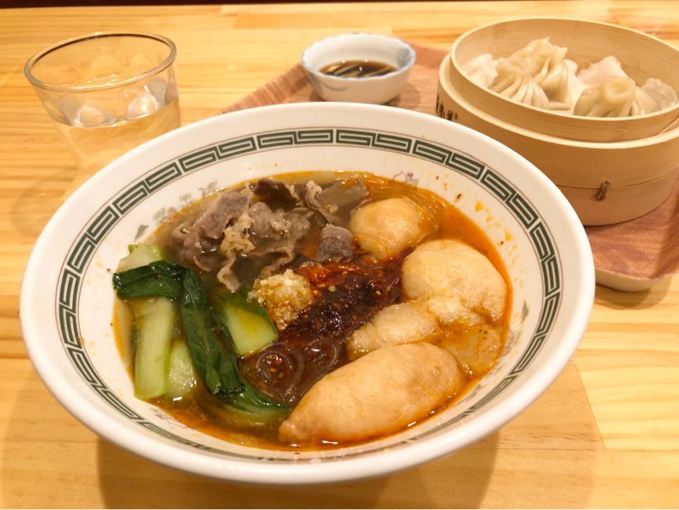 七色麻辣湯ならお好み具材で特製麻辣湯がつくれちゃう