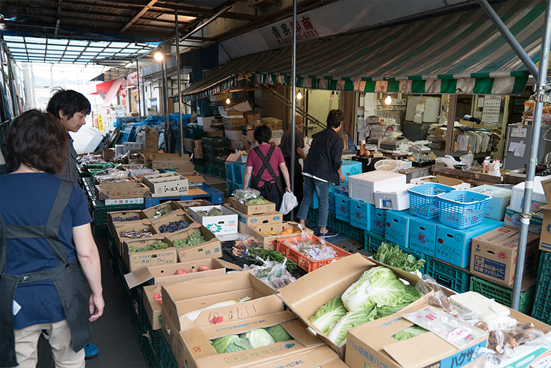 八王子綜合卸売センターで市場探索 北野市場