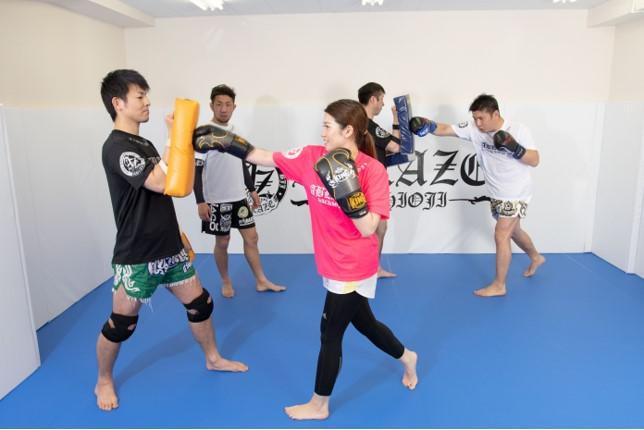 アブレイズ|ゼロから格闘技が学べるフィットネスジム