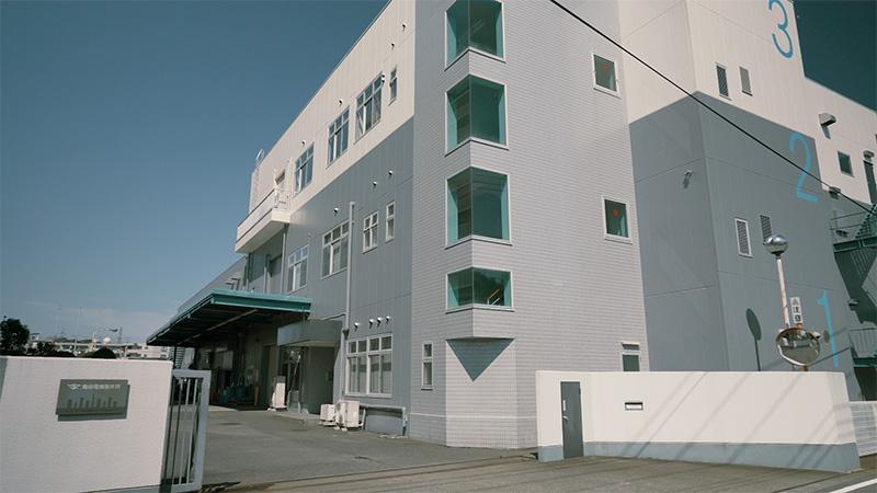 島田電機製作所のリニューアルオフィス
